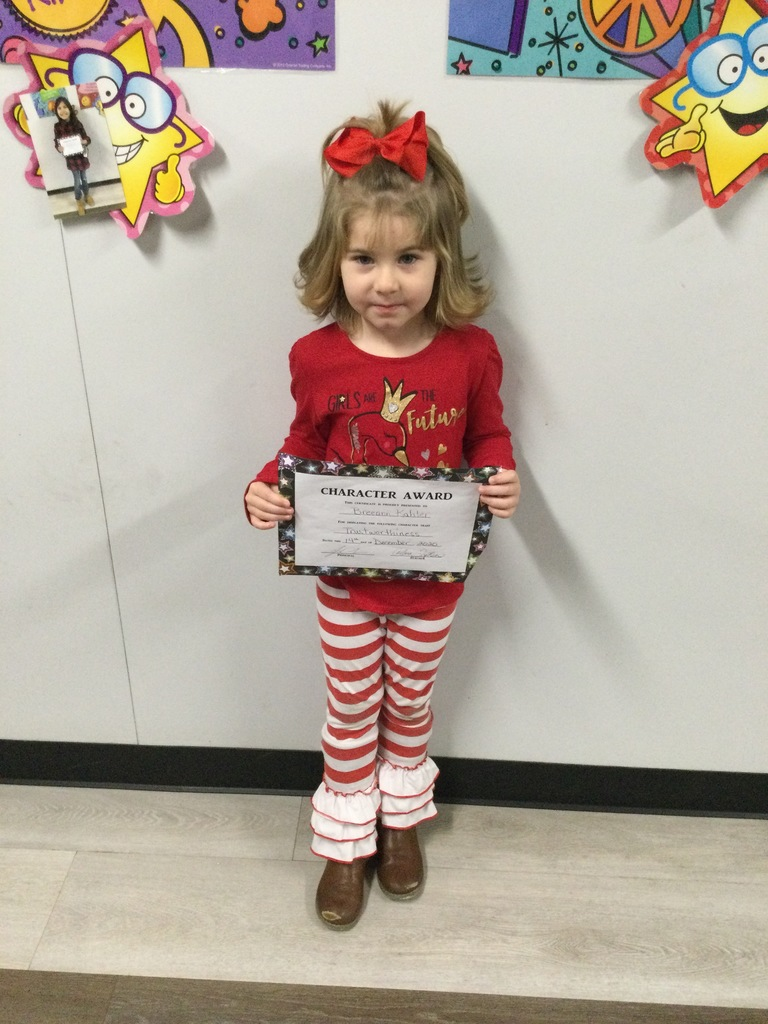 pk November student of the month