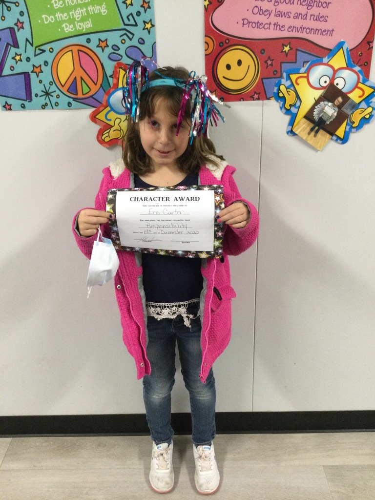 1st November Student of the Month