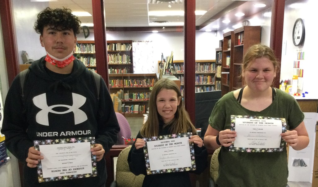 MS December Students of the Month