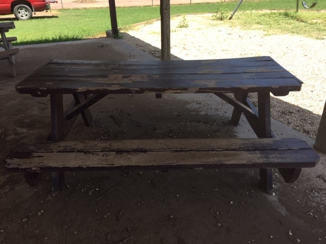 Table under pavilion 2