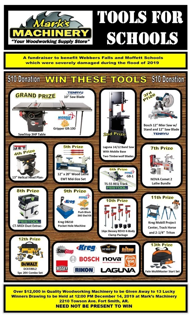 Tools for Schools fundraiser