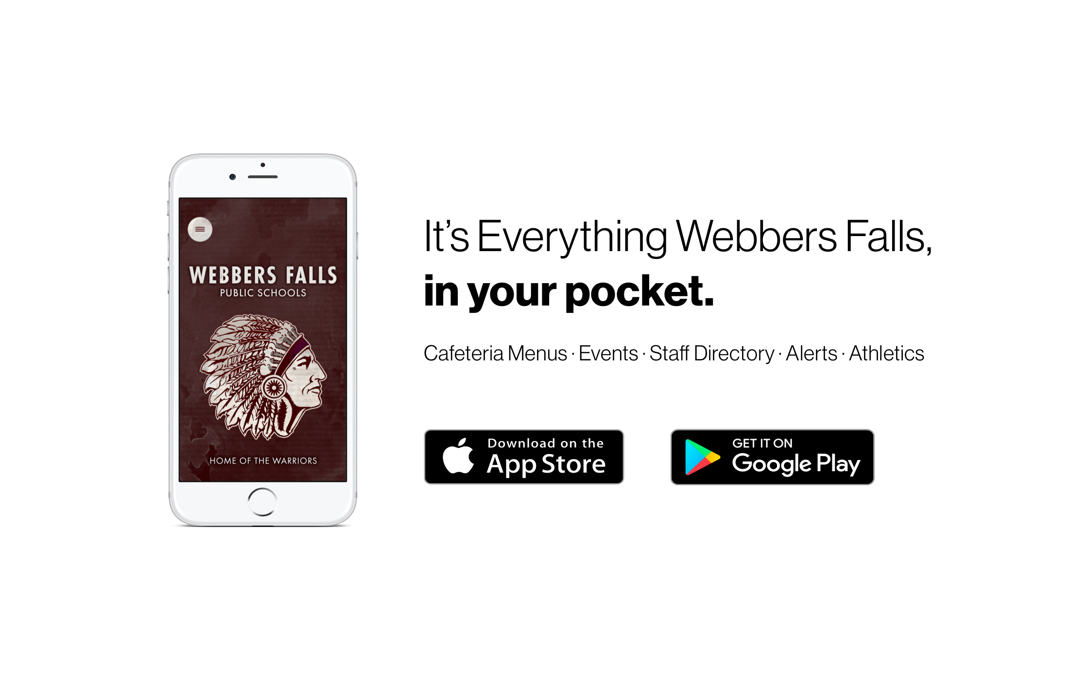 It's Everything Webbers Falls, in your pocket